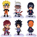 Naruto Figures 6pcs Set